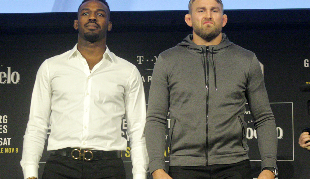 Fighters take another hit as media day scrapped to give way to Jones - Gus presser - Jones