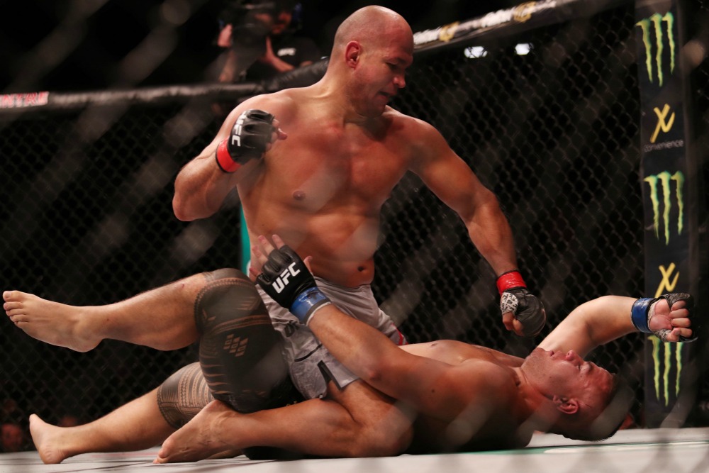 Twitter reacts to Junior Dos Santos's TKO win over Tai Tuivasa - Dos
