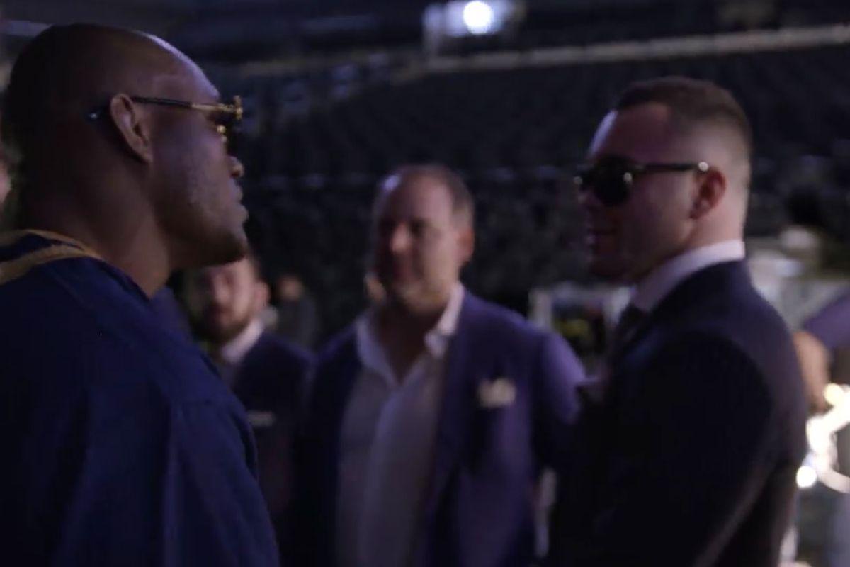 Kamaru Usman posts video of him punking 'Twitterthug' Colby Covington backstage - Kamaru