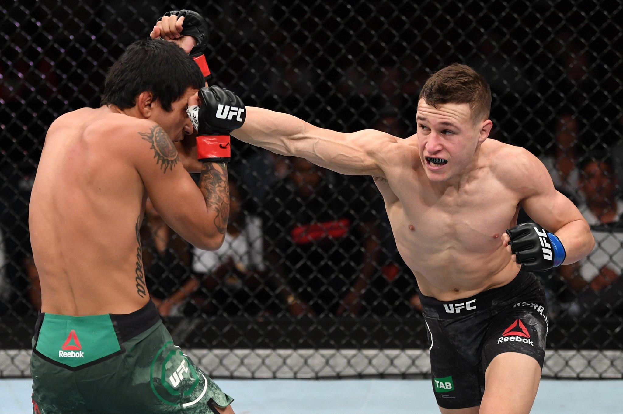 Kai Kara France reacts to his brilliant performance on UFC debut -