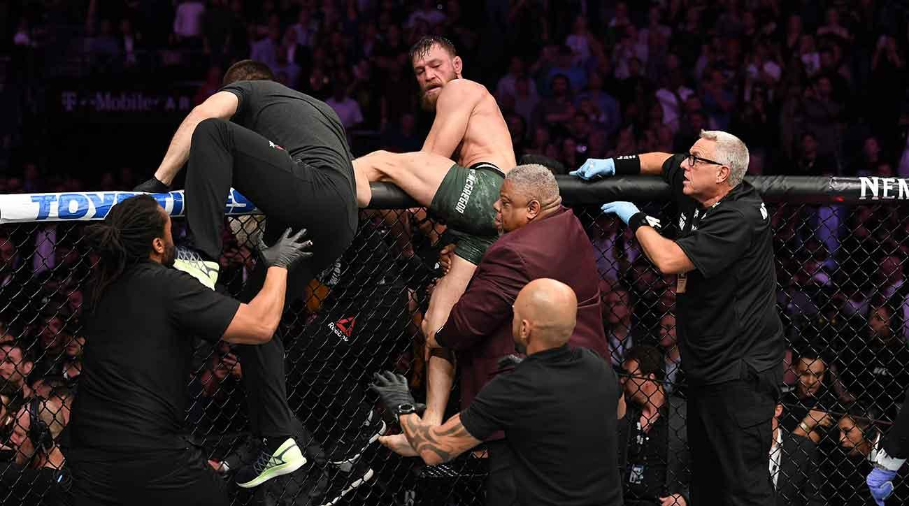 Fan who entered UFC 229 cage during melee gets banned; posts a long letter in explanation -