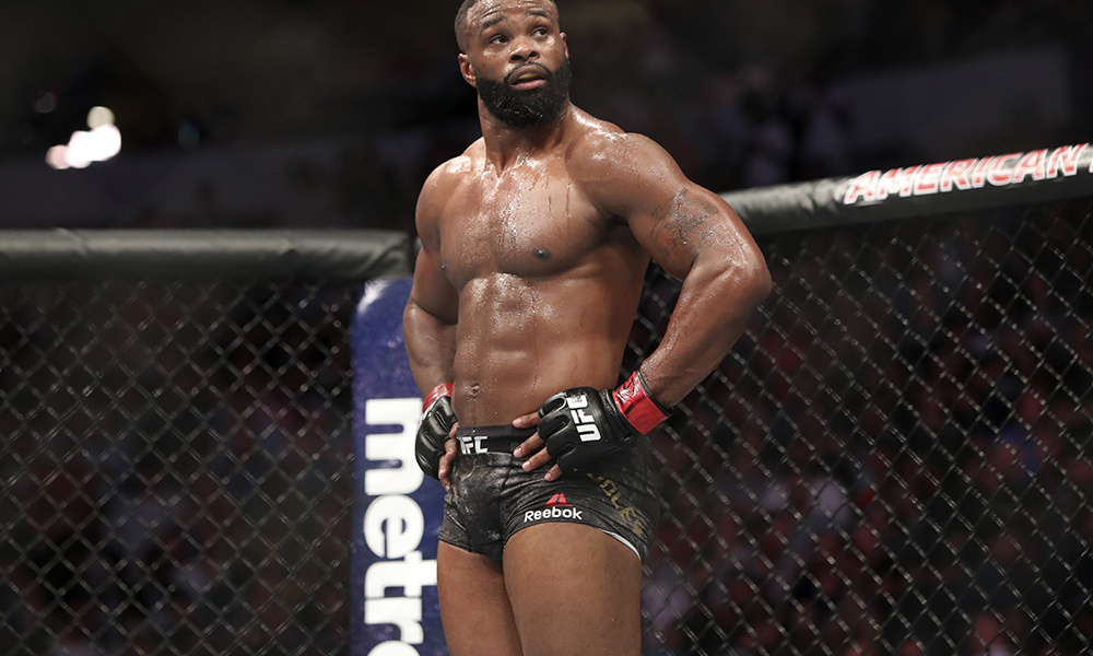 UFC's deadline to Tyron Woodley - defend your title at UFC 235 against Kamaru Usman or get stripped - Tyron Woodley