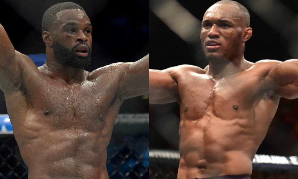 Move over Colby! Kamaru Usman posts signed bout agreement for Tyron Woodley fight -