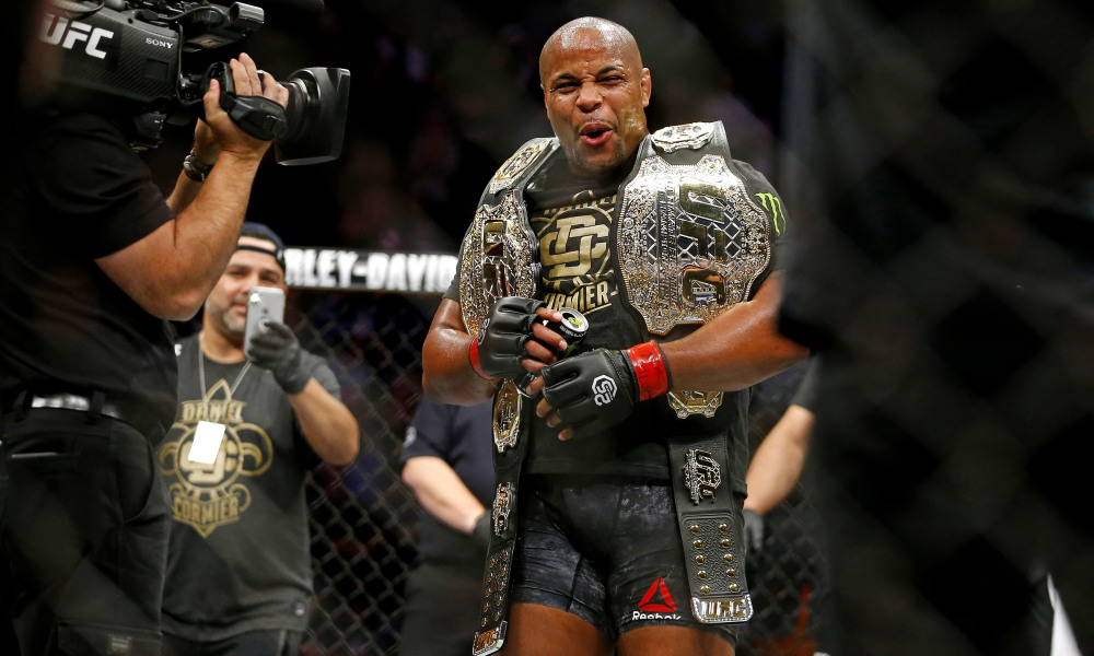 Daniel Cormier relinquishes UFC LHW belt in a dignified manner - Cormier