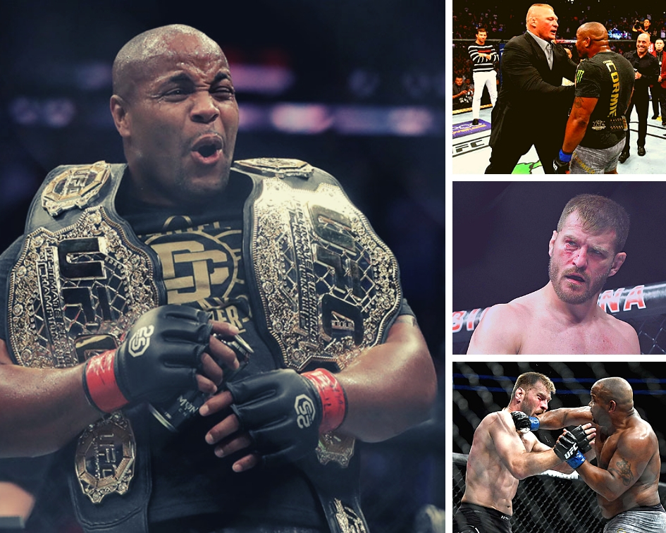 Daniel Cormier not interested in Jones trilogy - wants Lesnar or Miocic next - Lesnar