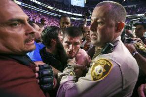 Khabib Nurmagomedov suspended for 9-months and fined ₹3.6 Crore for UFC 229 Brawl - Khabib