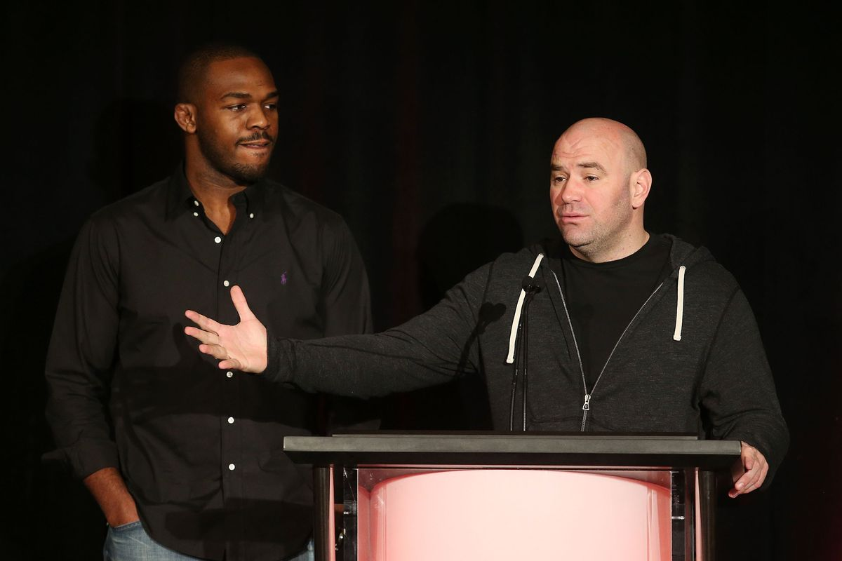 Dana White says he is rooting for Jon Jones because he's one of the best ever - Jon