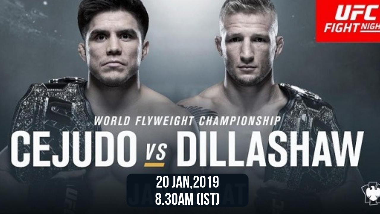 UFC Fight Night 143 -
