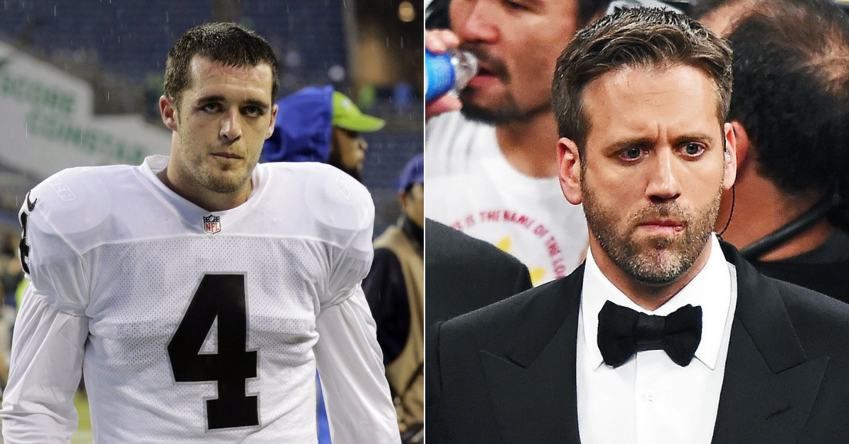 NFL player Derek Carr wants to fight Max Kellerman - and Dana White to start a promotion that allows it! - Derek