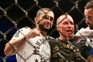 Firas Zahabi talks about possible matchup between Khabib and GSP - GSP
