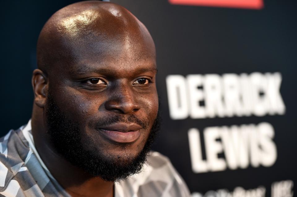Image result for Derrick Lewis smiling
