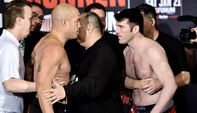 Tito Ortiz planning a rematch with Chael Sonnen in Bellator - Tito