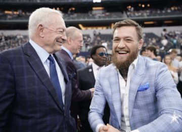 dallas cowboys conor mcgregor