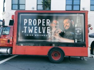 Have you ever wondered who the guy in the 'Proper No. Twelve' truck is along with Conor McGregor? - Conor