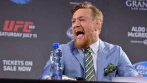 NSAC warns Conor McGregor to tone down the trash talk under threat of suspension - Conor