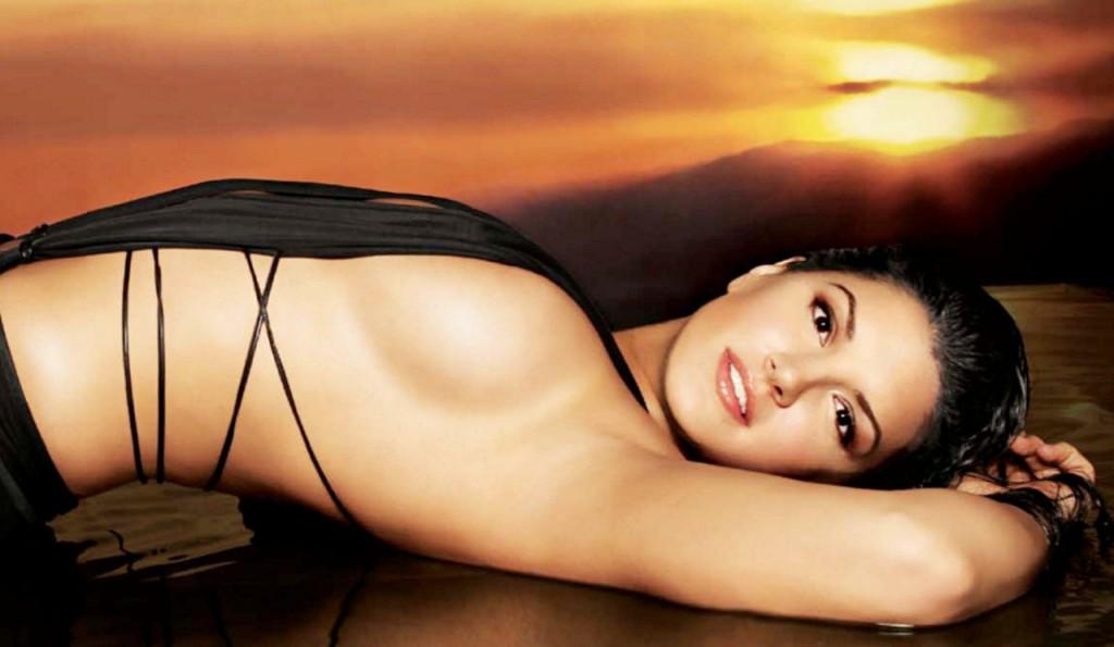 Former MMA hotness Gina Carano -
