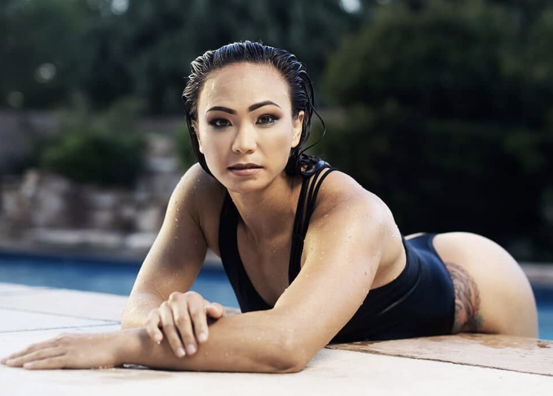 Michelle Waterson's Hot pictures are burning up the Instagram. -