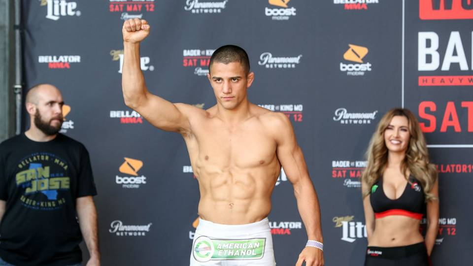 Aaron Pico wants to be a young champion like Jon Jones - but avoid the same kind of pitfalls - Aaron Pico