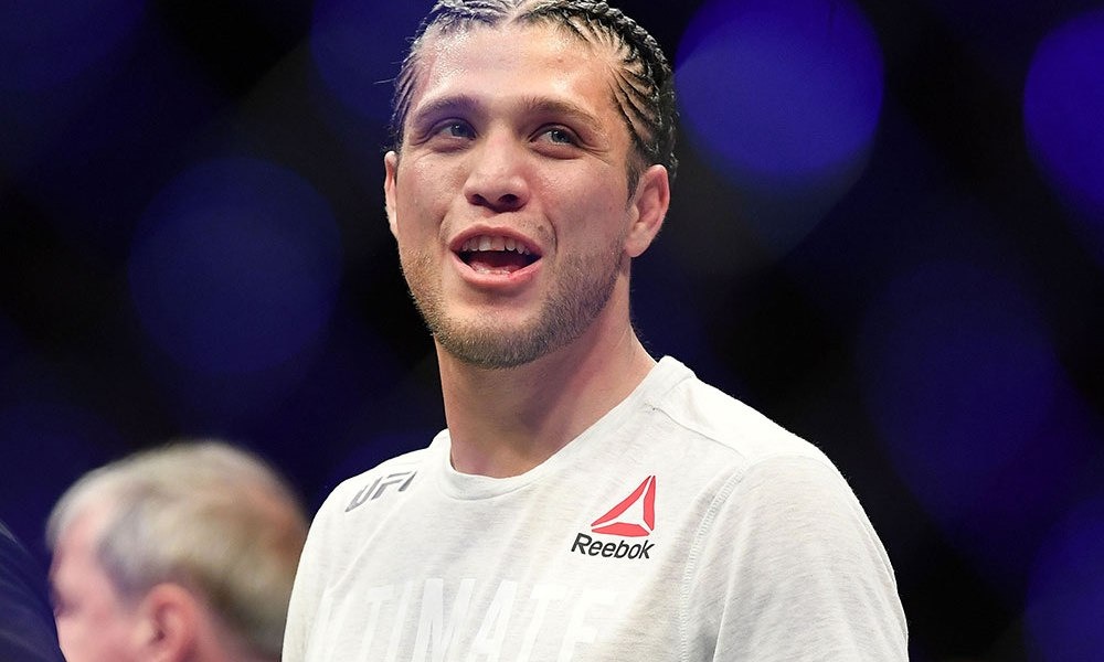 Brian Ortega reveals why he is a professional fighter in one short and sweet line - Brian