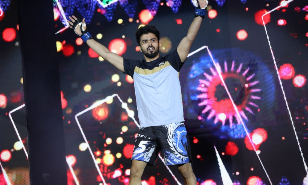 Indian MMA: Himanshu Kaushik a gets huge victory at ONE Championship: Hero's Ascent - Himanshu Kaushik