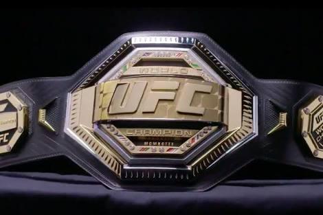 UFC: UFC introduces a new UFC Legacy Championship Belt - Belt