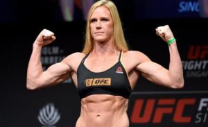 UFC: Holly Holm sets her sights on Amanda Nunes' 135 pound belt if she gets past Aspen Ladd next - Holm