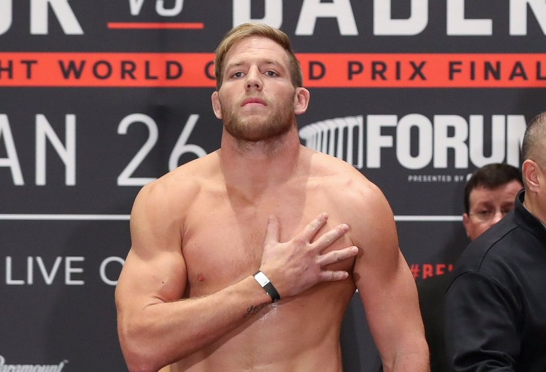 Jack Swagger says he wants to take it slow - but eventually visualises a fight against Champ Ryan Bader - Swagger