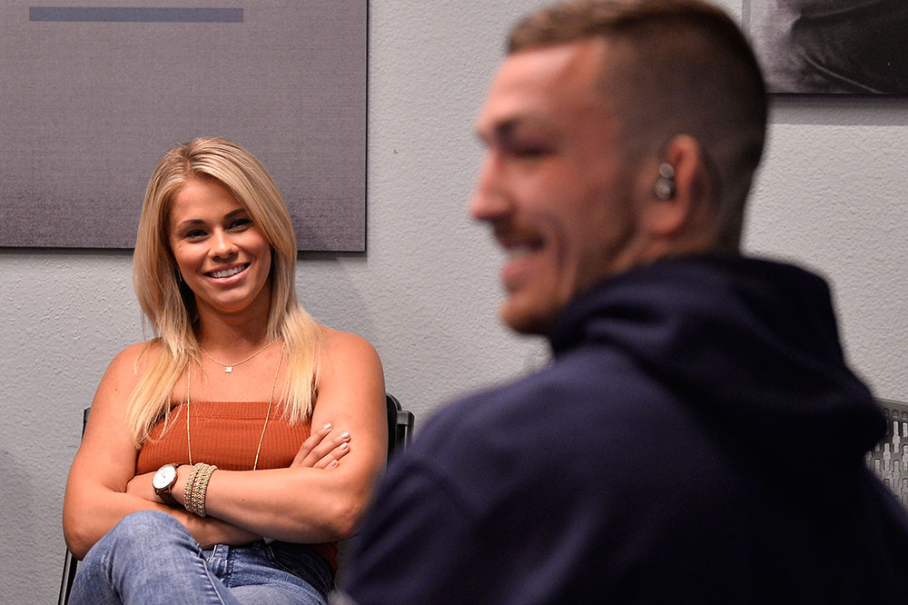 Chael Sonnen was the mastermind behind the Paige VanZant and Austin Vanderford romance - Paige