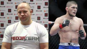 Khabib's UFC 229 brawl didn't sit well with fellow RussianFedor Emelianenko - Fedor