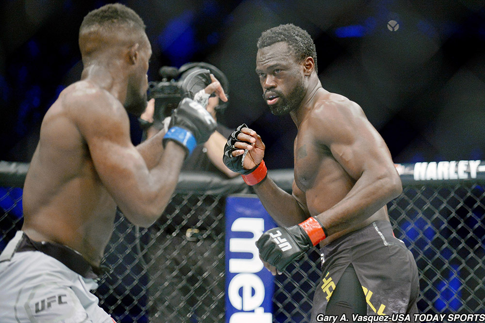 Uriah Hall delivers emotional speech after KNOCKOUT win at UFC 232 - Hall