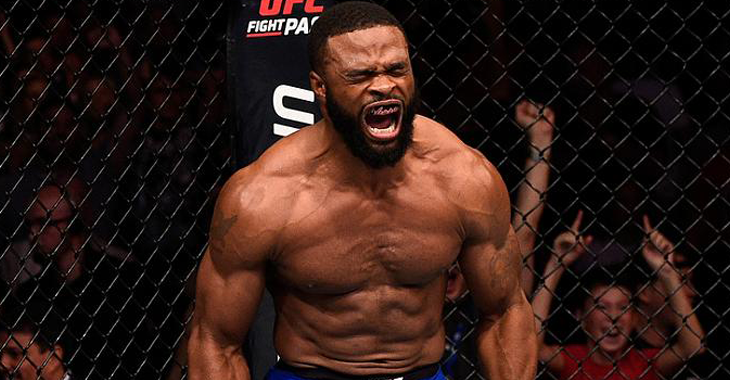 Watch: Tyron Woodley warns Middleweights: I'm coming! -