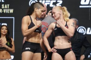 Amanda Nunes ready to become Champ Champ Champ by challenging Valentina Shevchenkno for the 125 pound belt -