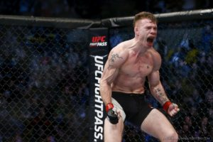 UFC: Paul Felder fought out the fight against James Vick with a punctured lung! - Felder