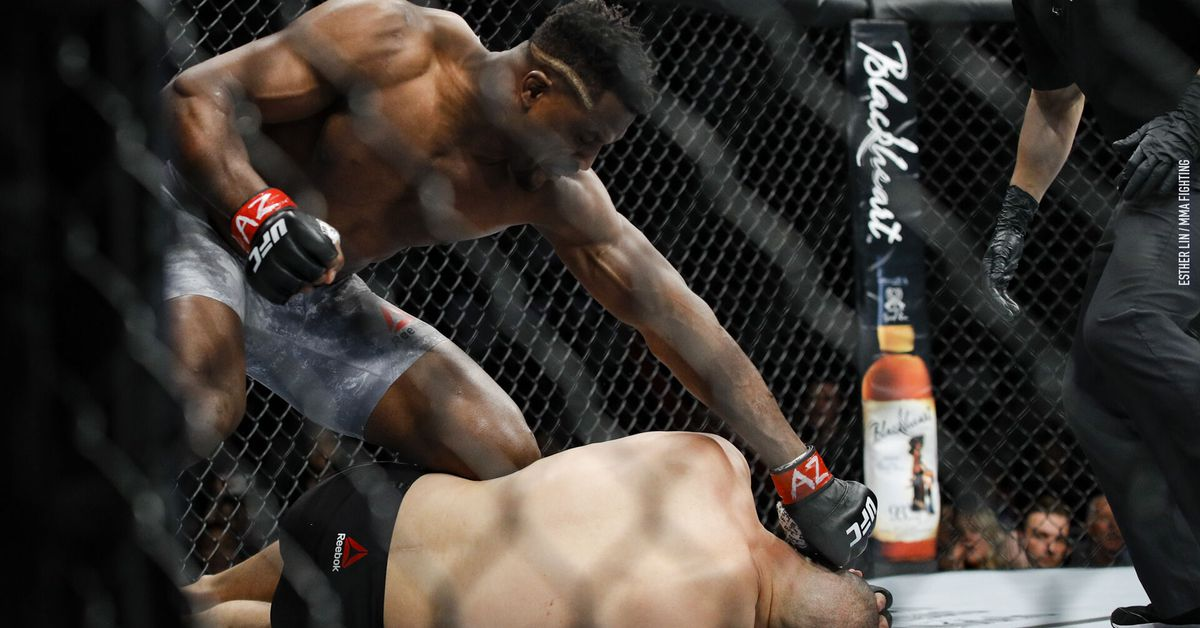 Watch: Analysis of the punch from Francis Ngannou that ended the Cain Velasquez fight - Francis