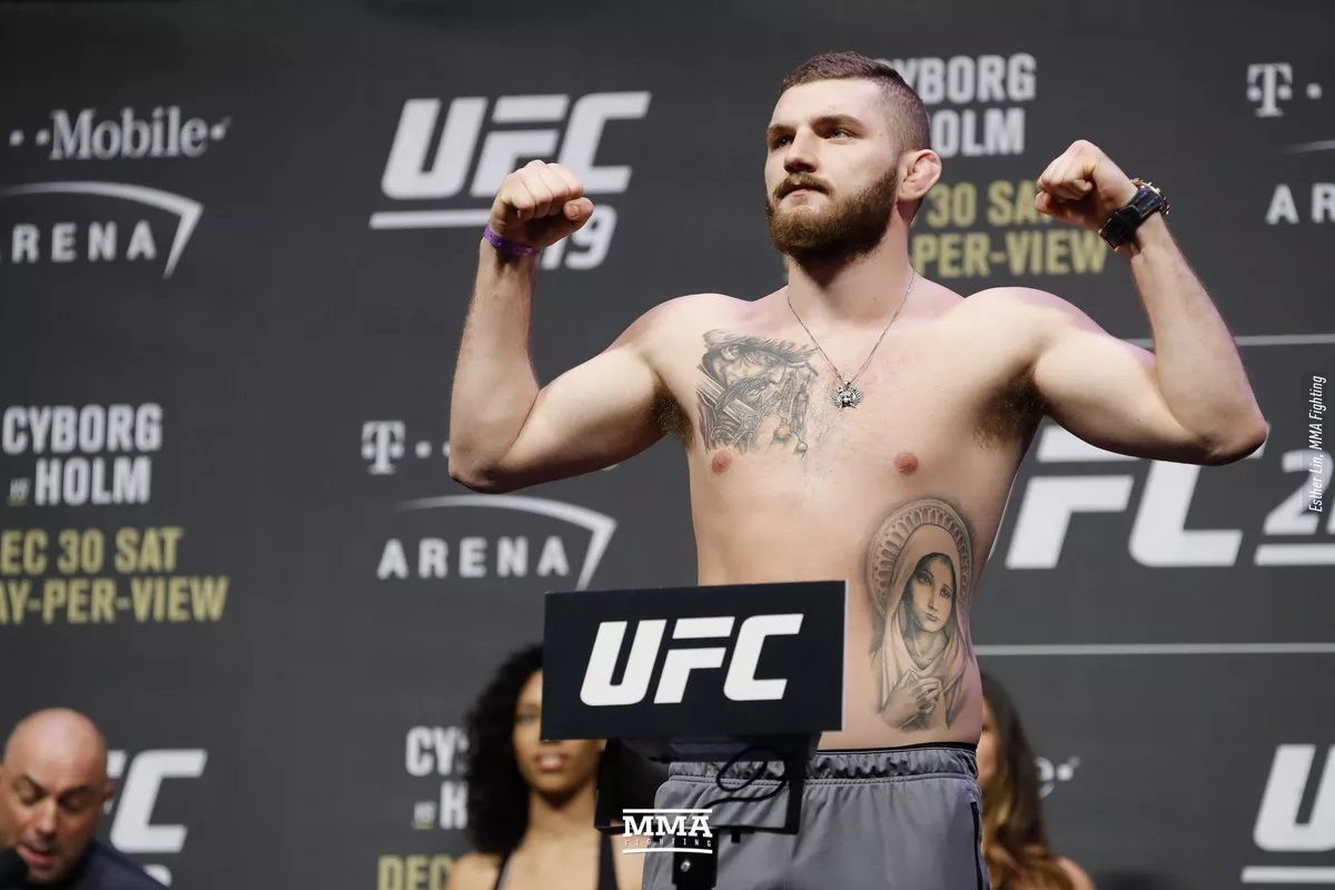 UFC Fight Night 135 Results: Michal Oleksiejczuk Finishes Gian Villante with a Blistering Body Shot in Round 1 -