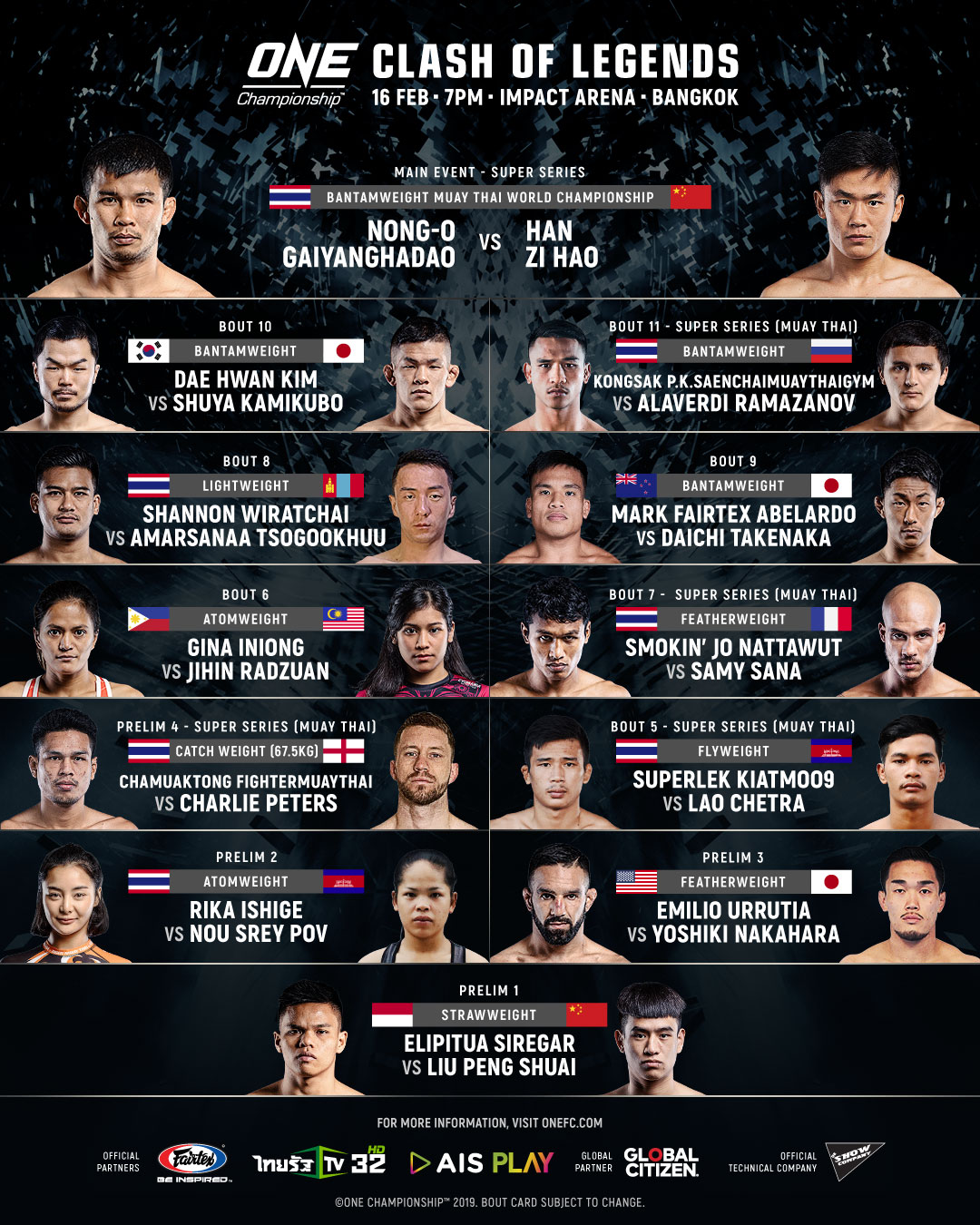 ONE: CLASH OF LEGENDS - Things You Should Know About Bangkok Card - one