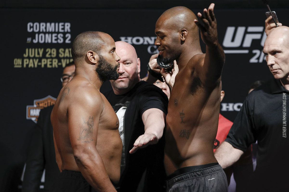Daniel Cormier says Jon Jones won't be able to knockout anyone at heavyweight - Jones