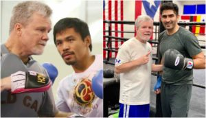 Vijender singh training with Manny Pacquiao's coach Freddie Roach - Singh