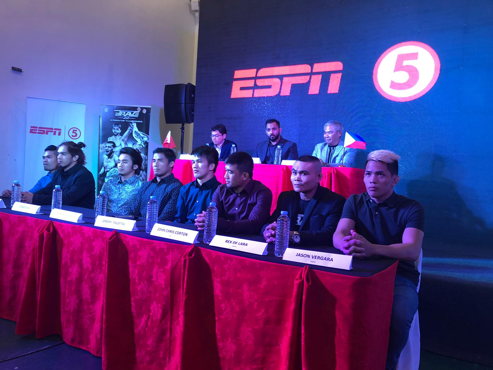Brave signs exclusive broadcast deal with TV5 in the Philippines -