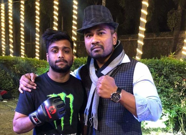 "Vishal "" The Leg Killer "" Balmiki becomes the 1st ever sponsored athlete in the world of MMA and NoGi scene in India. -"
