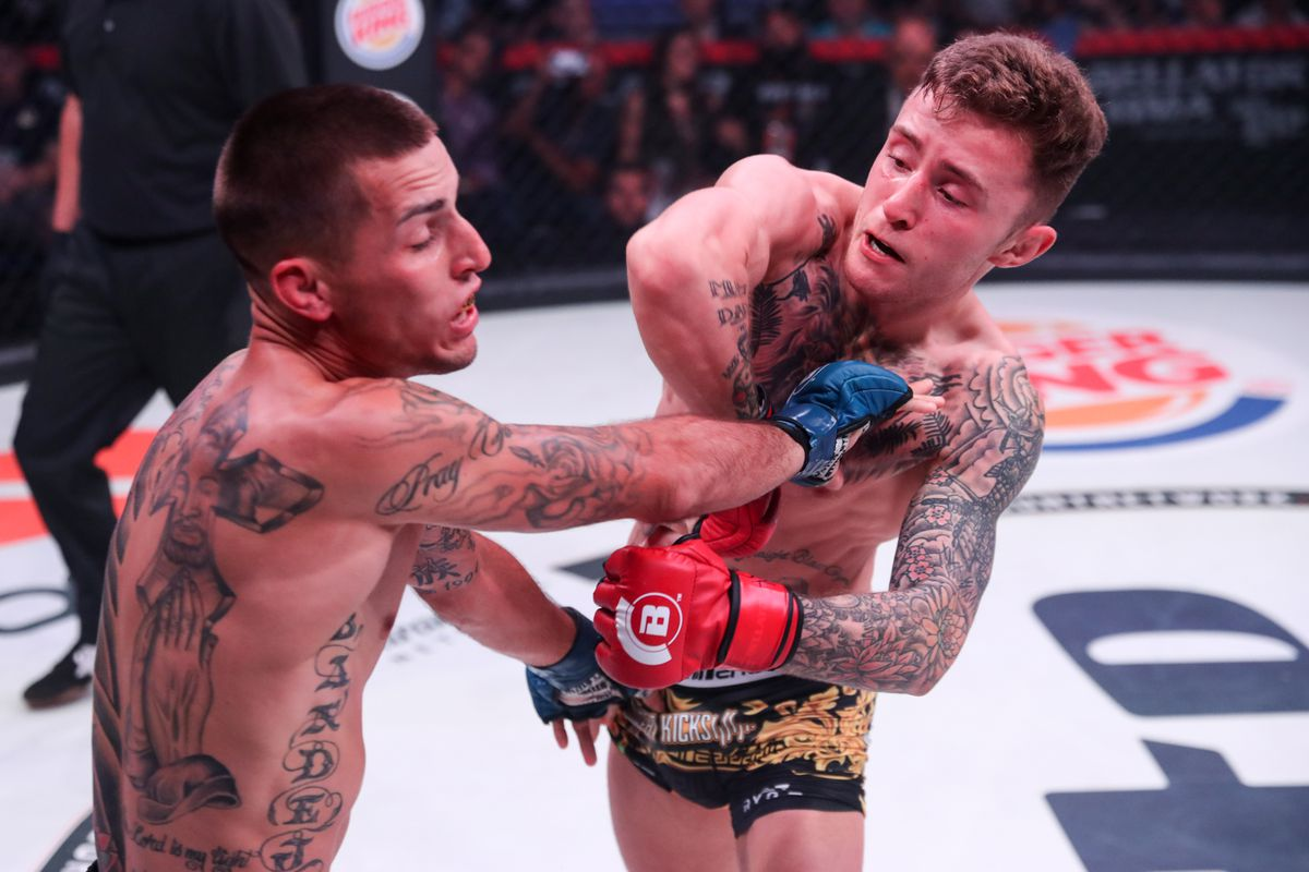 Watch: Bellator star James Gallagher reveals what 'finally humbled' him in MMA -