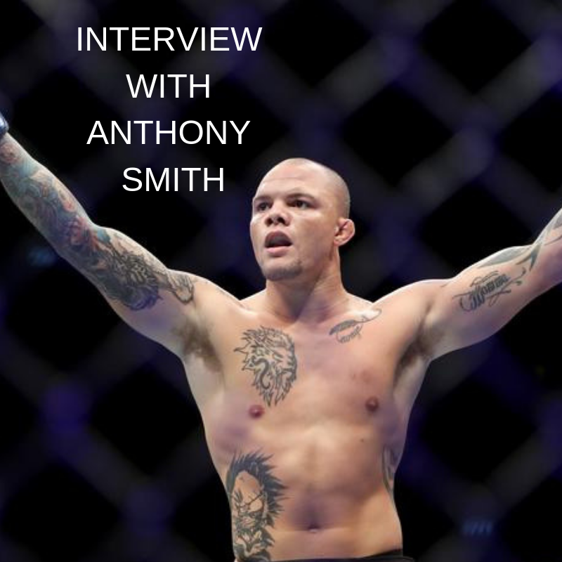 UFC 235's Anthony Smith: I don't really focus on odds -