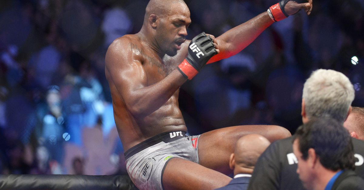 Jon Jones has an ominous warning for Cain Velasquez: Your confidence has to be on lock against me. My heavyweight days are inevitable! -
