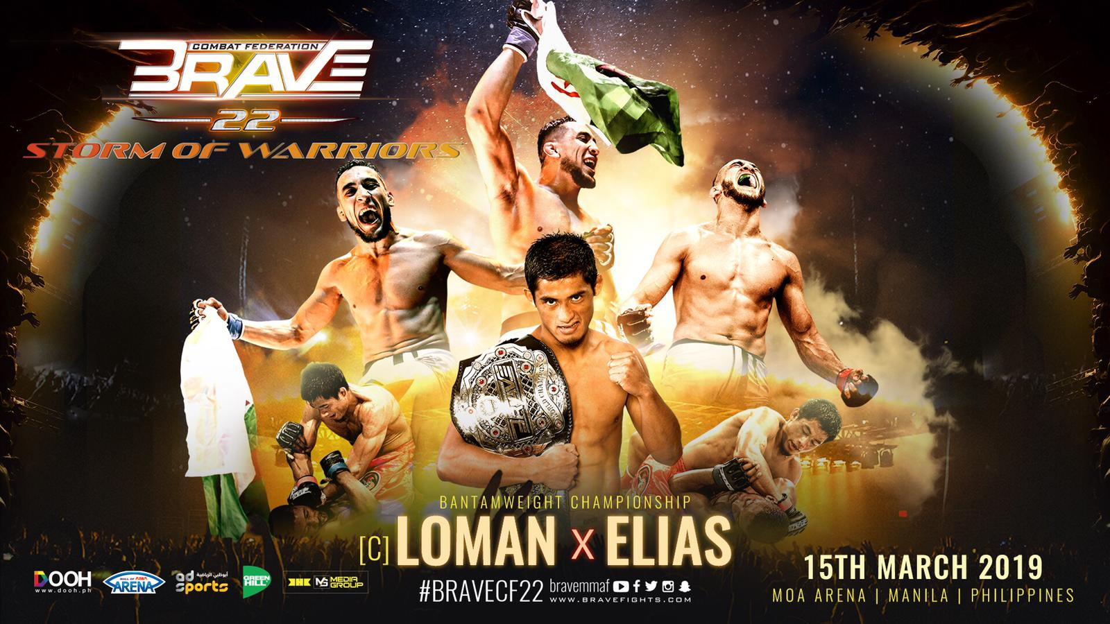 Full fight card released for Brave's debut in the Philippines -