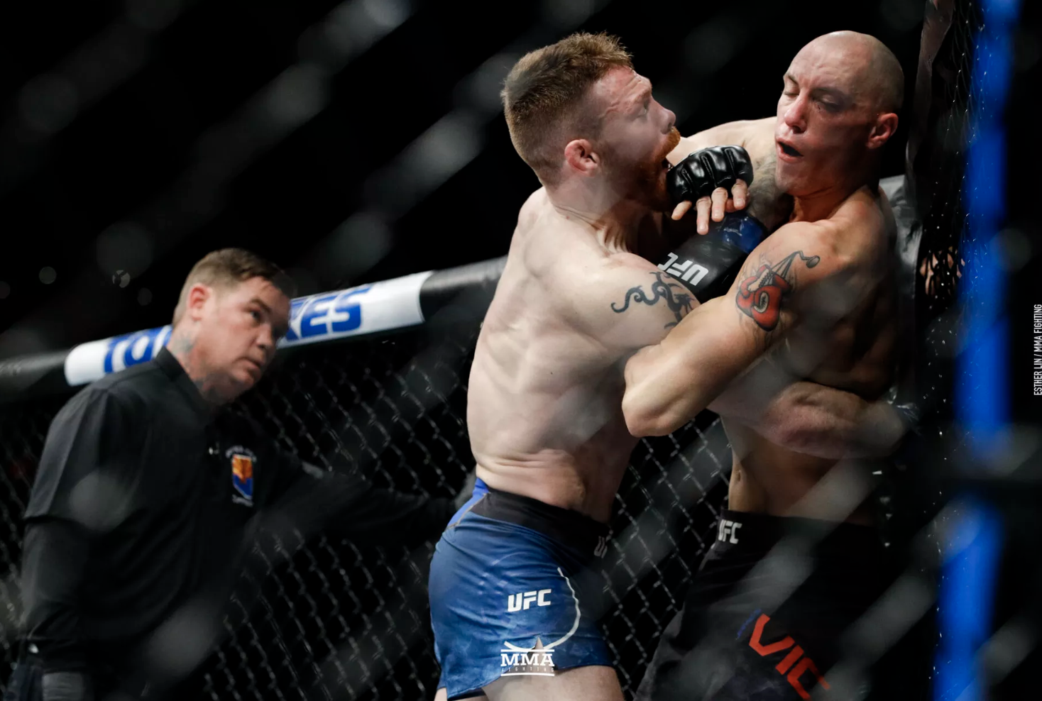 Paul Felder suffered collapsed lung late in UFC Phoenix win over James Vick -