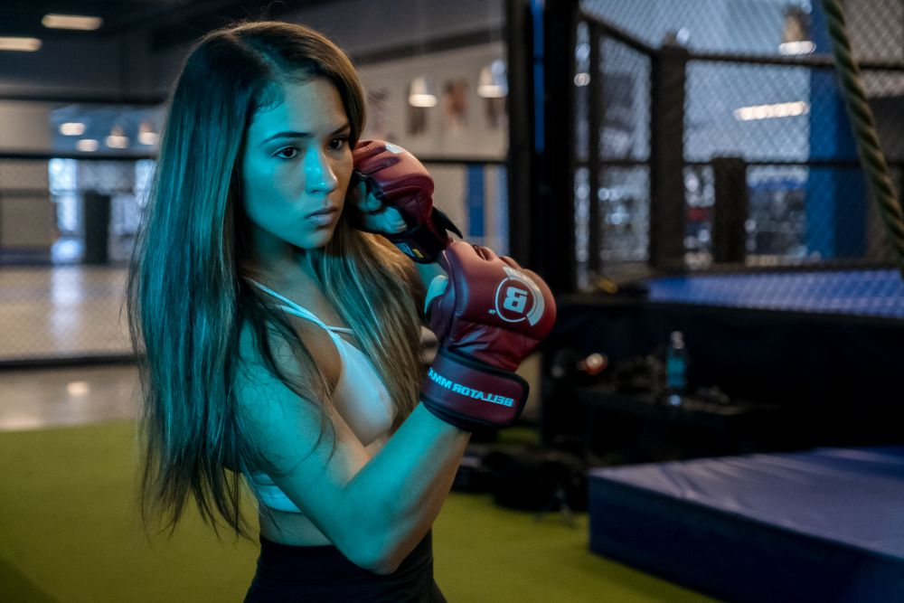 Victorious Valerie Loureda says the commission almost prevented her from fighting because of her eyelash extensions -
