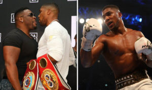 Anthony Joshua vs Jarrell Miller set for 1 June at the Madison Square Garden - Anthony
