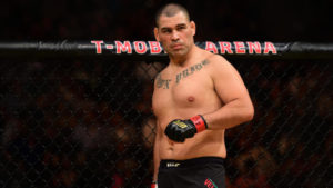 Extremely classy Cain Velasquez tells Francis Ngannou after the fight that he is open to helping him with his foundation in Africa - Cain Velasquez