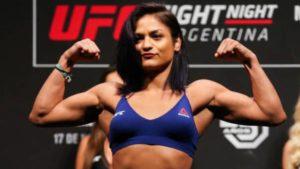 Watch: Victorious Cynthia Calvillo calls-out Tatiana Suarez after fight against game Courtney Casey - Cynthia Calvillo