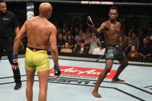Israel Adesanya clarifies his stance on asking for PPV points at UFC 234 - Israel Adesanya